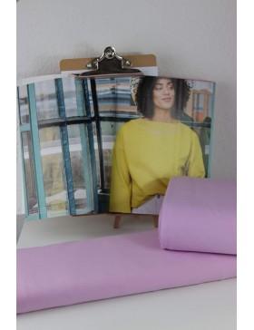 DIY Stoffpaket Shirt Pullover Vera flieder Fibre Mood Gr. XS bis M