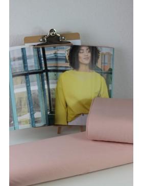 DIY Stoffpaket Shirt Pullover Vera rose rosa Fibre Mood Gr. L bis XXXL