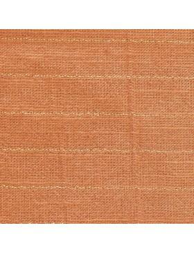 Baumwolle Webware orange rost gold Streifen Sari Fluor Katia Fabrics