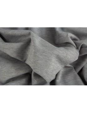 Romanit Jersey grau hellgrau melange meliert