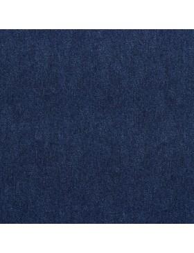 French Terry Sweat Jeansoptik Denim blue blau dunkelblau Digitaldruck