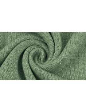 Viskose Strick Strickstoff mint grün salbei mit dezentem Glanz
