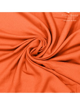 Viskose Crepe Webware orange koralle Fibre Mood Vikki