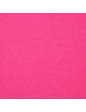 French Terry Sweat einfarbig pink fuchsia GOTS zertifiziert 033