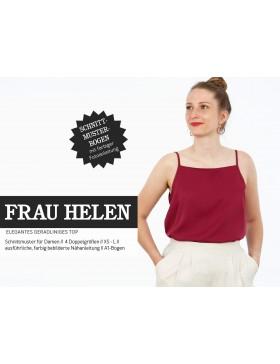 Schnittmuster Frau Helen Schnittreif  gerades Trägertop