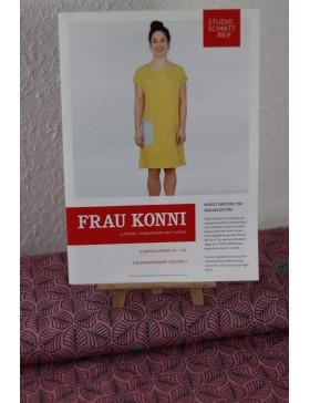 DIY Paket rosa Blätter lycklig Design Kleid Frau Konni Schnittreif...