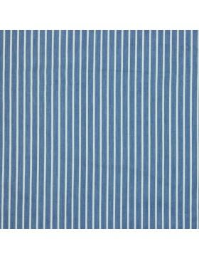 Jeans uni blau mittelblau weiß Streifen gestreift Chambray Blusenjeans