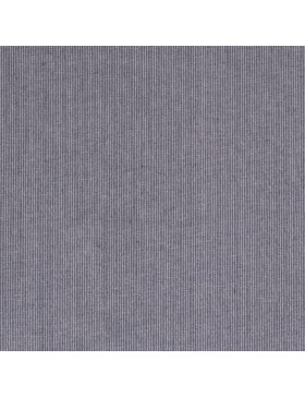 Leinen Viskose Stoff Streifen blau weiß Leinenstoff