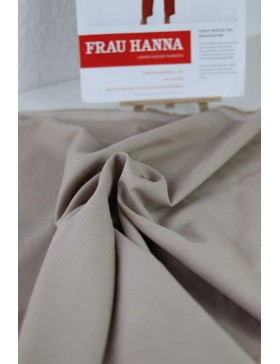 DIY Paket Tencel Leinen Baumwolle beige Hose Frau Hanna Schnittreif...