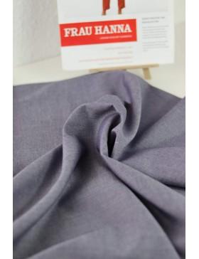 DIY Paket Tencel Leinen Baumwolle blau dunkelblau Hose Frau Hanna...