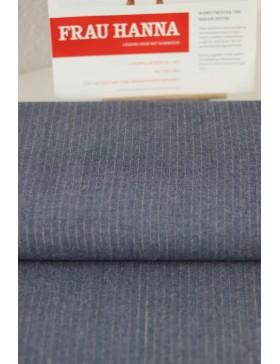 DIY Paket Jeans Chambray gestreift blau Denim kupfer Hose Frau...