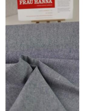 DIY Paket Jeans Chambray gestreift blau Denim silber Hose Frau...