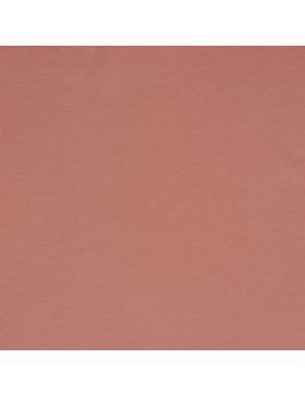 Baumwoll Jersey einfarbig mauve dunkles koralle GOTS zertifiziert 010