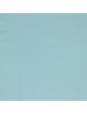 Baumwoll Jersey einfarbig hellblau light blue GOTS zertifiziert 016