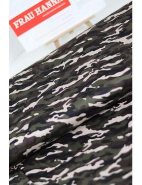 DIY Paket Baumwolle Elasthan Camouflage khaki oliv rose beige Hose...