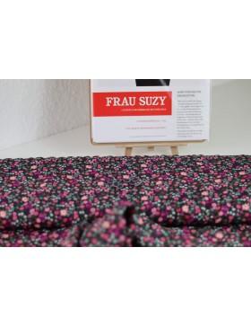 DIY Paket Bluse Frau Suzy Schnittreif Streublümchen bunt