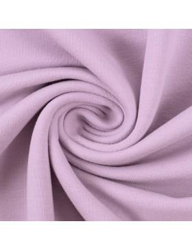 French Terry Sweat einfarbig uni flieder helles lila 641 Maike