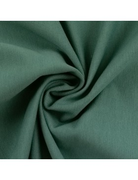 Stoff Bündchen uni einfarbig smaragd grün eukalyptus 266 Heike