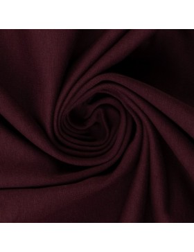 Stoff Bündchen uni einfarbig bordeaux dunkel 938 Heike