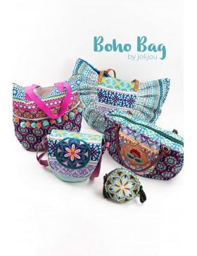 Boho Bag Panel Taschen Panel Jolijou Swafing