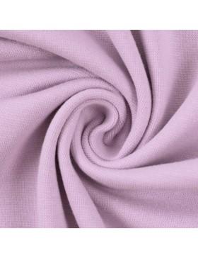Stoff Bündchen uni einfarbig flieder helles lila 641 Heike