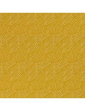 Baumwoll Jersey Let´s Rain Again Tropfen auf senf gold gelb