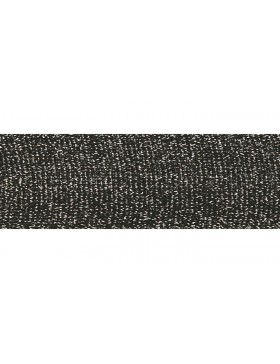 1m Zierband Strickband Hoodieband schwarz silber 30 mm breit