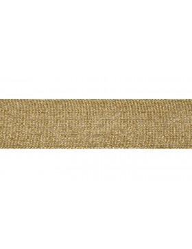 1m Zierband Strickband Hoodieband gold 30 mm breit