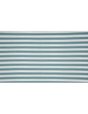 Jersey Streifen mint mintgrün salbei weiß geringelt Ringel...