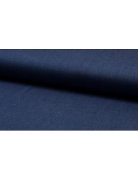 Tencel Viskose Chambray Jeans Denim dunkelblau blau