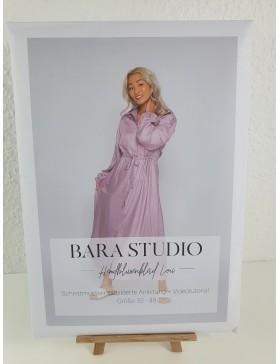 Schnittmuster Hemdblusenkleid Lou Blusenkleid von Bara Studio