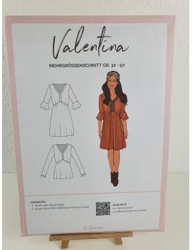 Schnittmuster Valentina Boho Bluse / Kleid La Bavarese