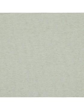 Leinen Viskose Jersey Lurex Glitzer Streifen creme weiß silber