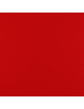 Baumwoll Canvas uni einfarbig rot