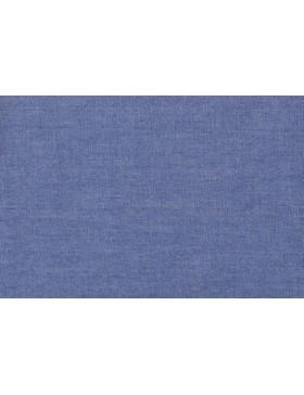 Jeans Chambray Jeansstoff mittelblau blau reine Baumwolle