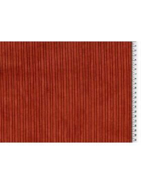 Cord mit Fellabseite rost braun Breitcord