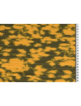 Plissee Stoff Leo Leomuster senf senfgelb gelb anthrazit grau