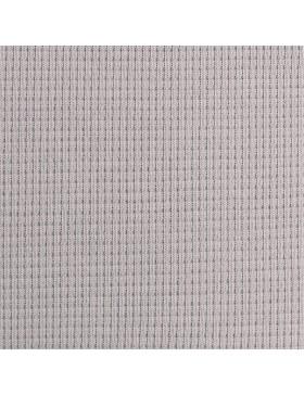 Waffel Jersey hellgrau grau uni einfarbig Waffeljersey