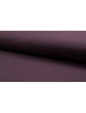 Waffel Jersey mauve violett  uni einfarbig Waffeljersey