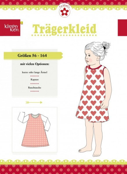 Schnittmuster Trägerkleid Klimperklein Mädchen