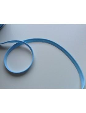 1m Paspelband hellblau 10 mm breit