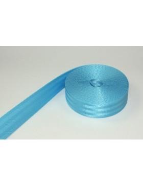 1m Gurtband türkis Auto Sicherheitsgurt 38 mm breit