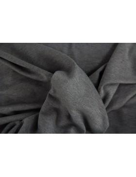 Romanit Jersey dunkelgrau anthrazit meliert
