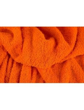 Frottee Frotteestoff orange schlingenfest