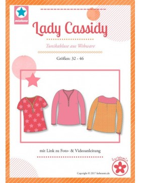 Schnittmuster Lady Cassidy Tunikabluse Mialuna