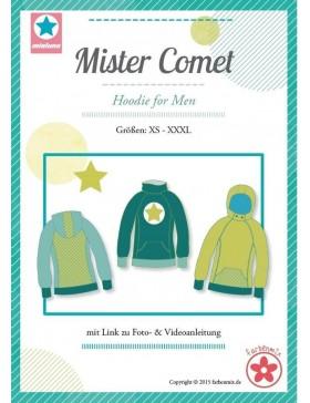 Schnittmuster Mister Comet Hoodie Sweat Mialuna