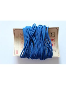 1m Gummikordel 3mm Gummiband royalblau blau