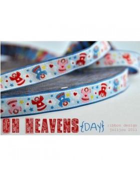 1m Webband Oh Heavens Day von Jolijou Engel