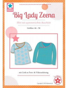 Schnittmuster Big Lady Zeena Mialuna