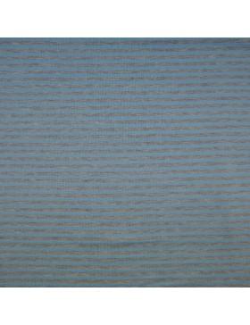 Modal Sweat hellblau grau melange geringelt gestreift